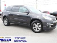 Recent Arrival! Gray Chevrolet Traverse  Odometer is