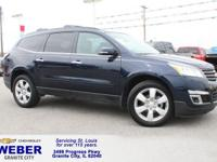 Recent Arrival! Black Chevrolet Traverse  Odometer is