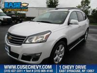 Check out this 2016 Chevrolet Traverse LT. Its