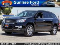 Our 2016 Chevrolet Traverse 2LT is dressed to impress