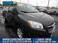 Check out this 2016 Chevrolet Trax LS. Its Automatic
