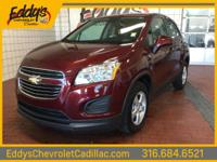 Check out this gently-used 2016 Chevrolet Trax we