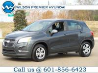 This 2016 Chevrolet Trax LS in Silver features: Brake