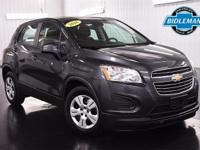 Options:  Pre-Owned 2016 Chevrolet Trax Ls|Cyber Gray