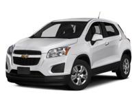 2016 Chevrolet Trax, Waranty Available, Backup Camera,