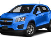 Options:  2016 Chevrolet Trax Ls|Miles: 6977Color: