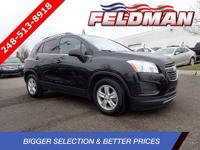 *2016 CHEVROLET TRAX 1LT*FWD 6-Speed Automatic ECOTEC