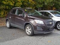 ONE OWNER!! This 2016 Chevrolet Trax LT in deep