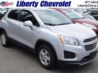 Like new, Chevy Certified, Trax LT AWD crossover!