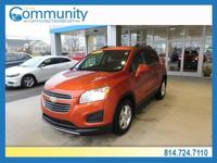 Chevrolet Trax 2016 1LT CARFAX One-Owner. Clean CARFAX.