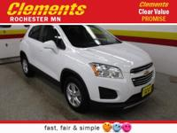 Options:  2016 Chevrolet Trax Awd 4Dr Lt|Roof - Power