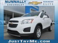 The city-savvy 2016 Chevrolet Trax gives you the best