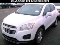 This one owner, All Wheel Drive 2016 Chevy Trax has