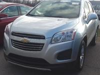 This one owner 2016 Chevy Trax has alloy wheels, roof