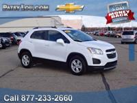 2016 Trax LT - Clean CARFAX One Owner **Rear Back-Up