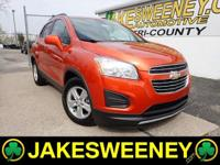 Meet our GM Certified 2016 Chevrolet Trax. This vehicle
