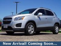 2016 Chevrolet Trax 1LT in Silver Ice Metallic, This