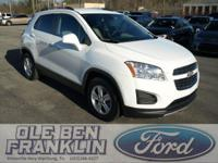 Options:  2016 Chevrolet Trax Lt W/Chevy Mylink|White
