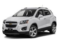 Options:  2016 Chevrolet Trax Ltz|Silver/|V4 1.4L