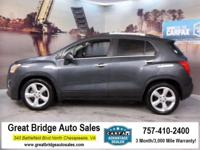 2016 Chevrolet Trax CARS HAVE A 150 POINT INSP, OIL