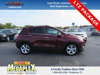 This 2016 Chevrolet Trax LTZ in Blaze Red is well