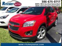CERTIFIED PRE-OWNED 2016 CHEVY TRAX LTZ**CLEAN CAR