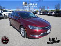 Low miles, 1 owner, bluetooth! 2016 Chrysler 200
