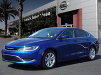 This 2016 Chrysler 200 Limited is complete with