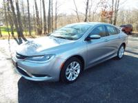 Built for style, the 2016 Chrysler 200 does not
