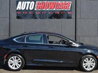 This 2016 Chrysler 200 Limited features a 2.4L 4