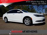 Check out this 2016 Chrysler 200 Limited. Its Automatic