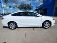 Options:  2016 Chrysler 200 Limited|Bright White