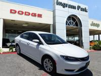 CarFax Clean Title. The Chrysler 200 Limited is a fuel