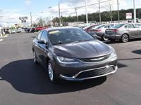 This outstanding example of a 2016 Chrysler 200 Limited