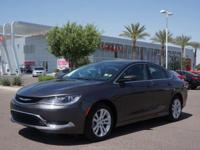 Don't miss out on this 2016 Chrysler 200 Limited! It