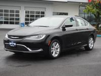 This BLACK 2016 Chrysler 200 Limited might be just the