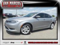 Options:  2016 Chrysler 200 Limited|Silver/|V4 2.4 L