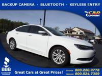 Used 2016 Chrysler 200, DESIRABLE FEATURES: a BACKUP