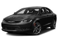 Introducing the 2016 Chrysler 200! This is an excellent
