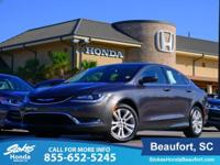 2016 Chrysler 200 in Gray. Stays the course. Stability
