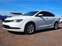 Bright White Clearcoat 2016 Chrysler 200 LX FWD 9-Speed