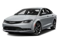 Introducing the 2016 Chrysler 200! Simply a great car!