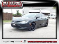 Options:  2016 Chrysler 200 Touring|Black/|V4 2.4 L