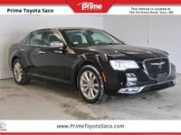 CARFAX One-Owner. 2016 Chrysler 300C in Black, With