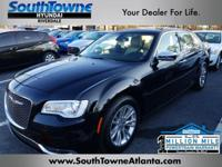 Gloss Black 2016 Chrysler 300C RWD 8-Speed Automatic