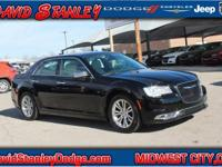CARFAX One-Owner. Black 2016 Chrysler 300C RWD