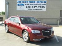 This 2016 Chrysler 300 300C, has a great Red exterior,