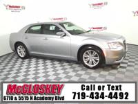 Like New 2016 Chrysler 300C with Navagation, Leather