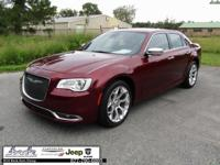 CARFAX One-Owner. Red 2016 Chrysler 300C Platinum RWD