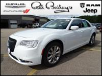 Options:  Bright White Clearcoat|300 Premium Group All